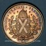 Monnaies Lyon. Société de Secours Mutuels pour les Ouvriers de la Soie. 1850. Jeton argent. Poinçon : corne