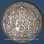 Monnaies Lyon. Société Royale. Jeton argent 1763