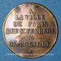 Monnaies Marseille (13). A la Ville de Paris. Jeton publicitaire, laiton