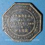 Monnaies Metz (57) Ferrez (rue de la Tête d'Or), Mercerie, Rubannerie, Fuornitures (sic) de Cordonnier. Jeton