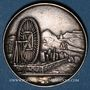 Monnaies Mines. Paris. Chambre des marchands carriers. Jeton argent 1840 (frappé en 1846)
