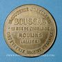 Monnaies Moulins (03). Boussac (13 rue de l'Horloge) Bijouterie, joaillerie, orfèvrerie argent & ruolz. Jeton
