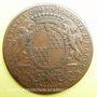 Monnaies Municipalité de Lyon. C. Perrichon. Jeton cuivre 1737