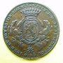 Monnaies Municipalité de Lyon. J. B. Flachat, seigneur de St Bonnet. Jeton cuivre 1761