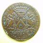 Monnaies Municipalité de Lyon. L. Ravat. Jeton cuivre 1709