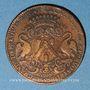 Monnaies Municipalité de Lyon. L. Ravat. Jeton cuivre 1713