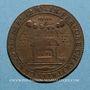 Monnaies Nivernais. Fondation Louis de Gonzague et Henriette de Clèves. Jeton cuivre 1651