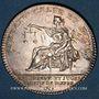 Monnaies Normandie. Dieppe, prieurs et juges consuls. Jeton argent 1758