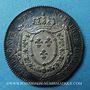 Monnaies Notaires. Amiens. Jeton argent. 1816