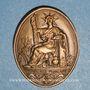 Monnaies Notaires. Compagnie des Notaires de Haute Saône. Jeton bronze 1976
