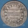 Monnaies Notaires. Département de la Vienne. Jeton argent 1902. Poinçon : corne d'abondance