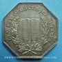Monnaies Notaires. Dieppe. Jeton argent 1852. Poinçon : abeille