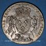 Monnaies Notaires. Lyon. Jeton argent 1715