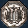 Monnaies Notaires. Vienne. Jeton argent 1837. Poinçon : lampe antique