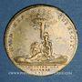 Monnaies Ordinaire des Guerres. Louis XV (1715-1174). Jeton laiton 1715