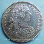 Monnaies Ordinaire des Guerres. Louis XV. Jeton argent 1757