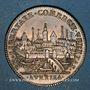 Monnaies Orleanais. Communauté des marchands de la Loire. Jeton argent 1735