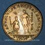Monnaies Orléanais. Louis XV, Philippe d'Orléans, régent (1715-1773). Jeton laiton