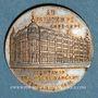 Monnaies Paris (75). Au Printemps (Bd Haussmann) - 25e anniversaire. 1890. Jeton publicitaire