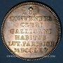 Monnaies Paris. Assemblée du Clergé de France. Louis XV. Jeton argent 1765