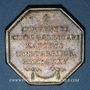 Monnaies Paris. Assemblée du Clergé de France. Louis XV. Jeton argent 1775