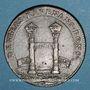 Monnaies Paris. Chambre aux Deniers. Jeton cuivre 1658