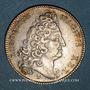 Monnaies Paris. Conseillers de Ville. Louis XIV. Jeton argent 1702