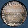 Monnaies Paris. Corporation des Teinturiers. Jeton argent hybride 1749