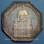 Monnaies Paris. La Sorbonne. Louis XVI. Jeton argent 1642