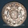 Monnaies Paris. Nicolas Lambert, prévôt des marchands. Jeton argent 1725