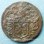 Monnaies Paris. Noblesse de l'Ile de France. J. Ferron. Jeton cuivre 1657