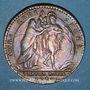 Monnaies Paris. Trésor royal. Louis XV. Jeton cuivre 1740