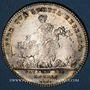 Monnaies Payeurs des rentes. Louis XV. Jeton argent 1717