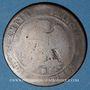 Monnaies PEARS' SOAP contremarqué sur 10 cmes 1856B
