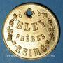 Monnaies Reims (51). Bley Frères, Champagne Bouchage Breveté. Jeton publicitaire