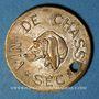 Monnaies Reims (51). Ch Benoit Fils, Vin de Chasse Sec. Jeton publicitaire