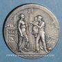 Monnaies Reims. Caisse d'Epargne. Jeton bronze argenté n.d.