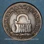 Monnaies Secrétaires du Roi. Jeton cuivre 1654