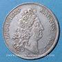 Monnaies Secrétaires du Roi. Louis XIV. Jeton argent 1711