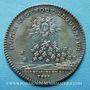 Monnaies Secrétaires du Roi. Louis XV. Jeton argent 1731