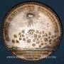 Monnaies Secrétaires du Roi. Louis XVI. Jeton argent 1776, gravé par Droz
