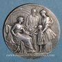 Monnaies Soissons - Caisse d'Epargne. Jeton bronze argenté n.d.