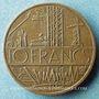 Monnaies Strasbourg. L'Equateur. Publicité sur pièce de 10 francs