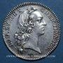 Monnaies Syndics généraux. Louis XV. Jeton argent 1737