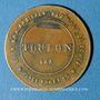 Monnaies Toulon (83). Rouil, dentiste (15 place Poget). Jeton publicitaire