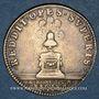 Monnaies Trésor royal. Louis XIV. Jeton argent 1686