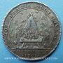 Monnaies Trésor royal. Louis XIV. Jeton argent 1701