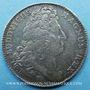 Monnaies Trésor royal. Louis XIV. Jeton argent 1706