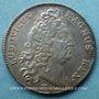 Monnaies Trésor royal. Louis XIV. Jeton argent 1712