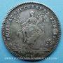 Monnaies Trésor royal. Louis XIV. Jeton argent 1731